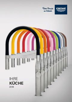 Europlus zeitgemasse optik mit intelligenter ergonomie for Grohe küchenarmaturen