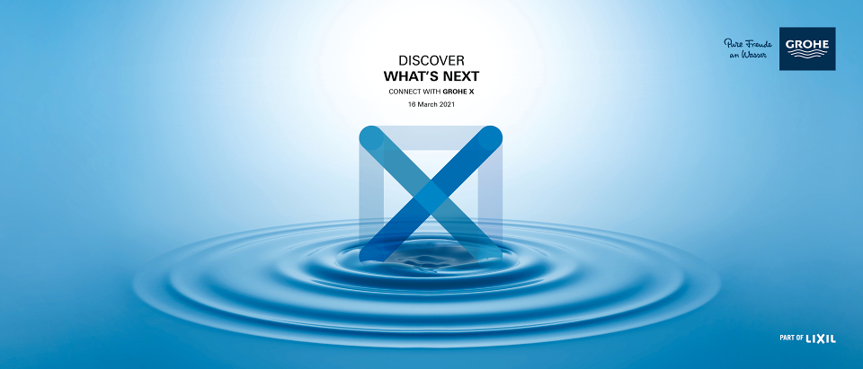 Discover what's next: GROHE launches digital experience hub GROHE X
