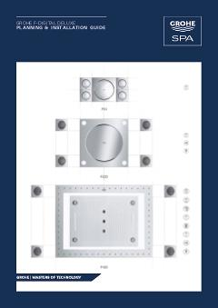 GROHE F-Digital deluxe planning & installation guide