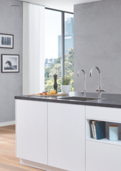 grohe red kochend hei es wasser auf knopfdruck grohe grohe ag company page. Black Bedroom Furniture Sets. Home Design Ideas