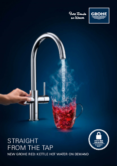 New Grohe Red Boiling Hot Water On Demand Grohe