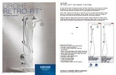 Retro-fit Shower System | Shower Systems | GROHE