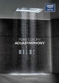 aquasymphony une experience a couper le souffle grohe. Black Bedroom Furniture Sets. Home Design Ideas
