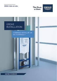 Comment Installer Un Wc Suspendu Tuto Grohe