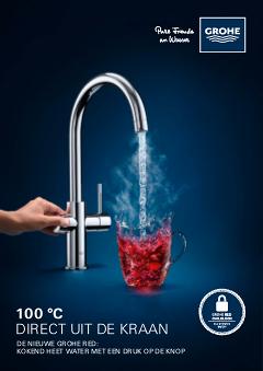 Kokend Water Kranen.De Nieuwe Grohe Red Kokend Heet Water Direct Beschikbaar Grohe