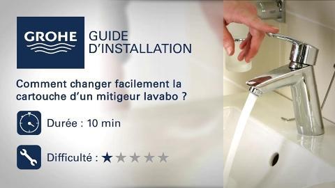 Comment changer la cartouche d\'un robinet lavabo - Tuto | GROHE