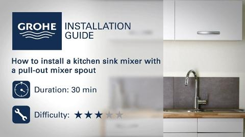 Installation Guide Install A Kitchen Sink Mixer With A