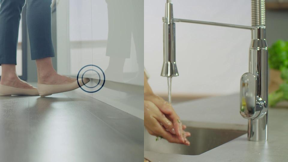 FootControl | Hands-Free Kitchen Faucet | GROHE