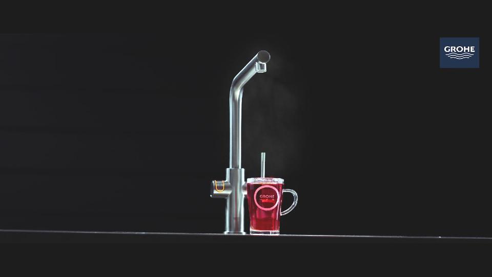 kochendes wasser aus wasserhahn perfect unter der sple kochendem wasser heizung mit kochendem. Black Bedroom Furniture Sets. Home Design Ideas