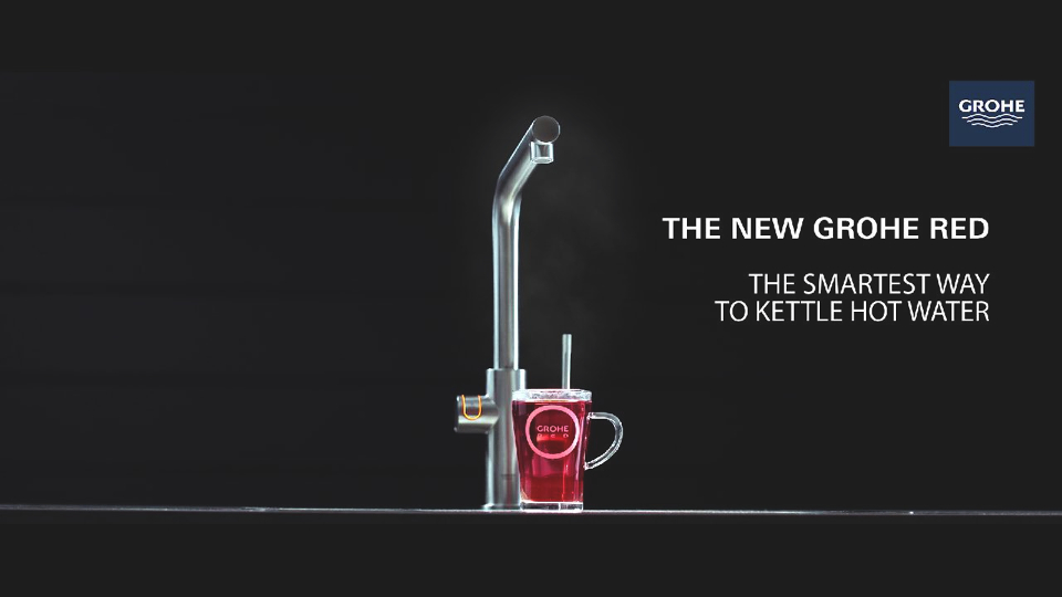 New GROHE Red: Boiling hot water on demand | GROHE