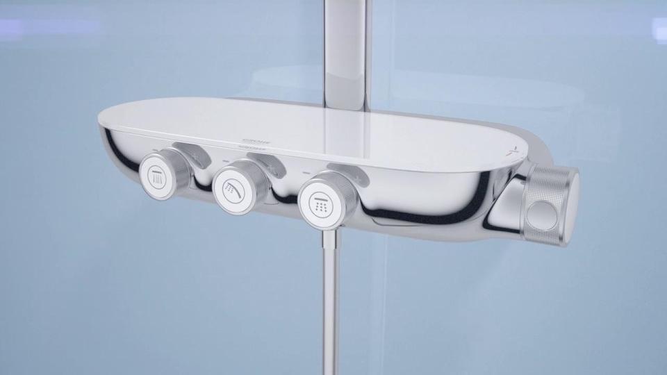 Luxury Bathroom Taps, Shower Heads & Kitchen Mixer Taps   GROHE