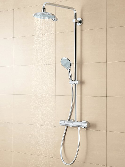 Rainshower System Shower system for wall mounting