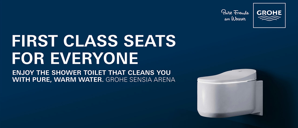 GROHE | GROHE launches shower toilet campaign at international airports