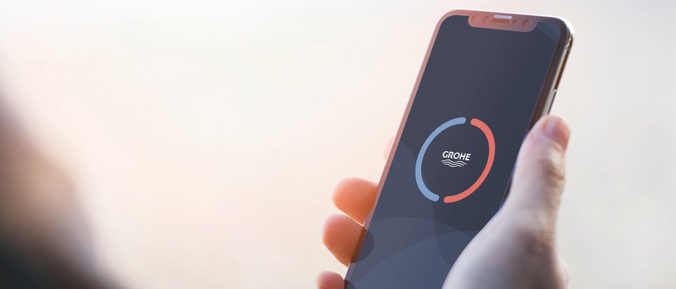 New GROHE Sense App: Water Management on the Go