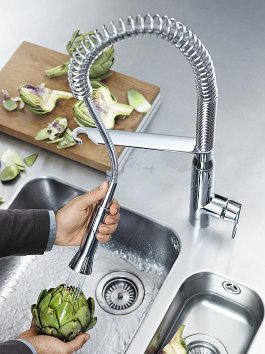 Faucets With Pull Out Spray Kitchen Trends Designs For Your Kitchen Grohe