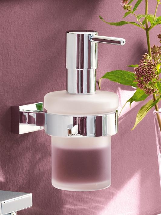 Eurocube Three-hole basin mixer