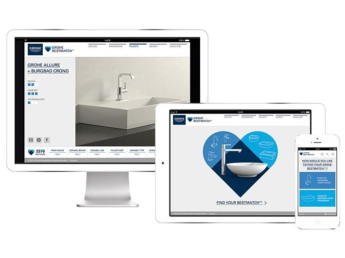 XEM GROHE BESTMATCH WEBSITE