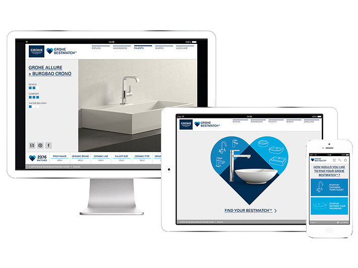 Visit GROHE PerfectMatch™ Website
