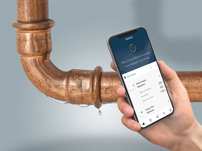 Water security system GROHE Sense Guard | GROHE