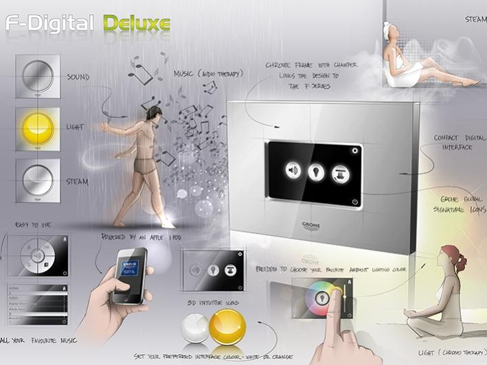 GROHE F-digital Deluxe