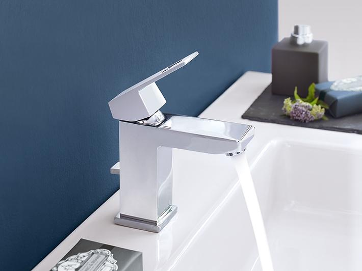 Cube ranges for a complete bathroom solution