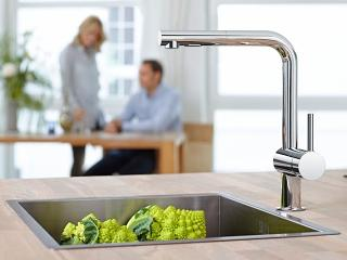 Kitchen Faucets Semi Pro And Walter Filter Faucets Grohe