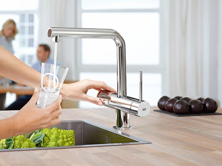 Filtered Water with GROHE Blue®