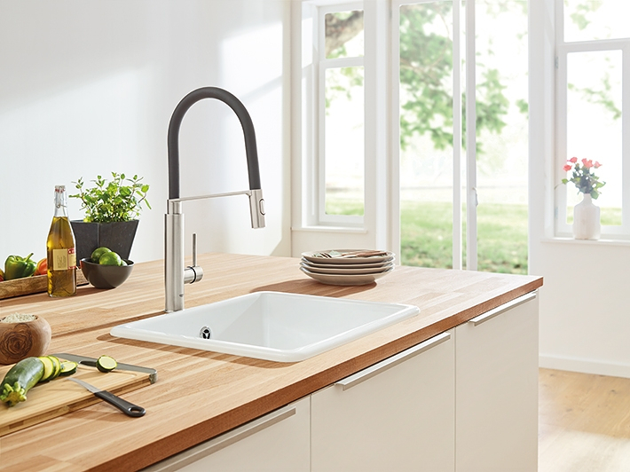 At The Heart Of All Kitchen Taps Grohe Grohe Ag