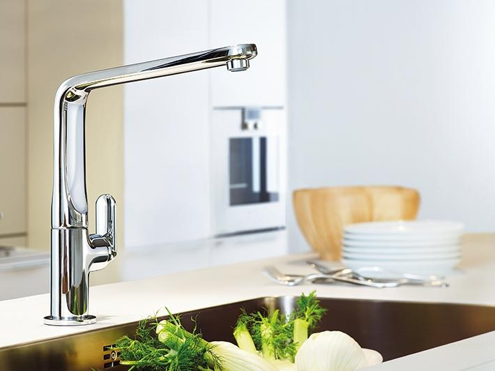 At The Heart Of All Kitchen Taps Grohe