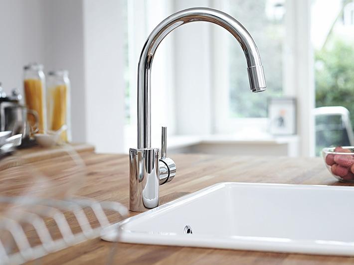 Gut gemocht Vorteile herausziehbarer Ausläufe - Designtrends in der Küche SV01