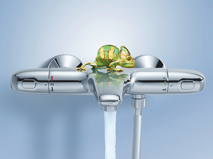 GROHE Thermostat technology