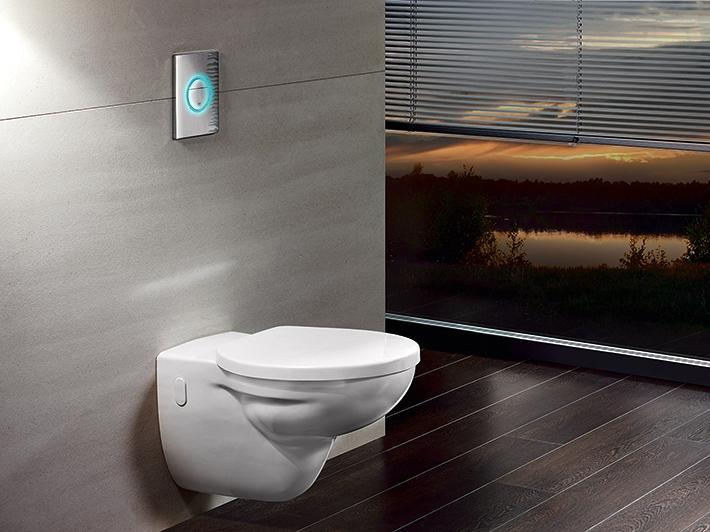 Nova Light WC wall plate