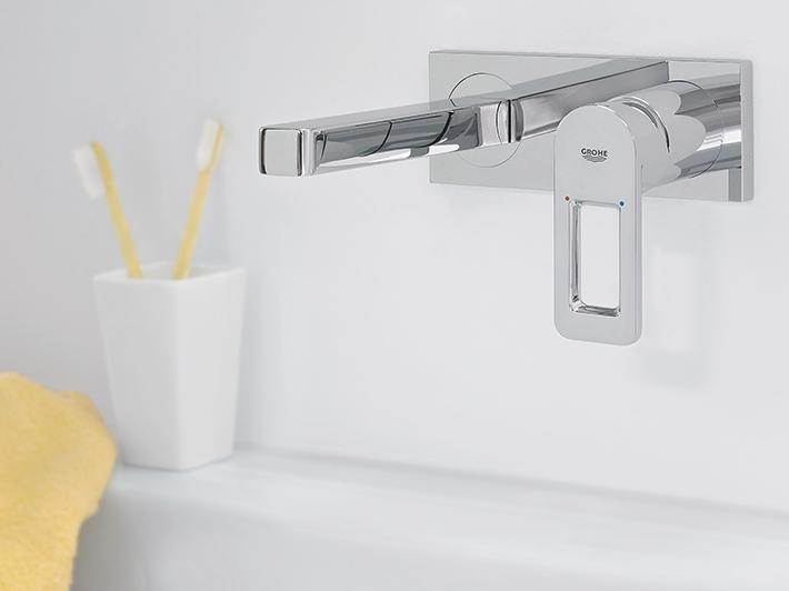Quadra 2-hole basin mixer
