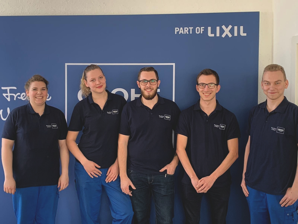 GROHE APPRENTICES FROM LAHR ARE THE BEST