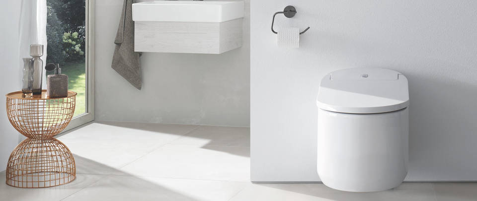 GROHE Sensia Arena: The shower toilet as a smart assistant for your home