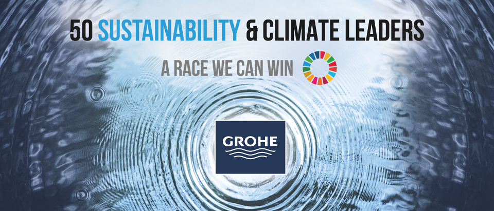 Pioneer of change: GROHE celebrates triple sustainability success