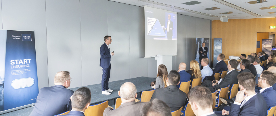 """Stop Insuring, Start Ensuring"" – GROHE Hosts First Insurance Seminar on How to Reduce Water Damage Claims"