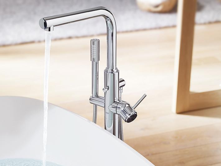 Atrio Single-lever bath mixer
