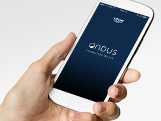 GROHE Ondus App Your Personal Digital Water Profile