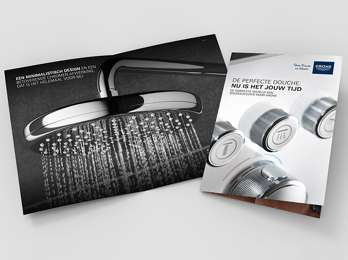 GROHE douche-brochure