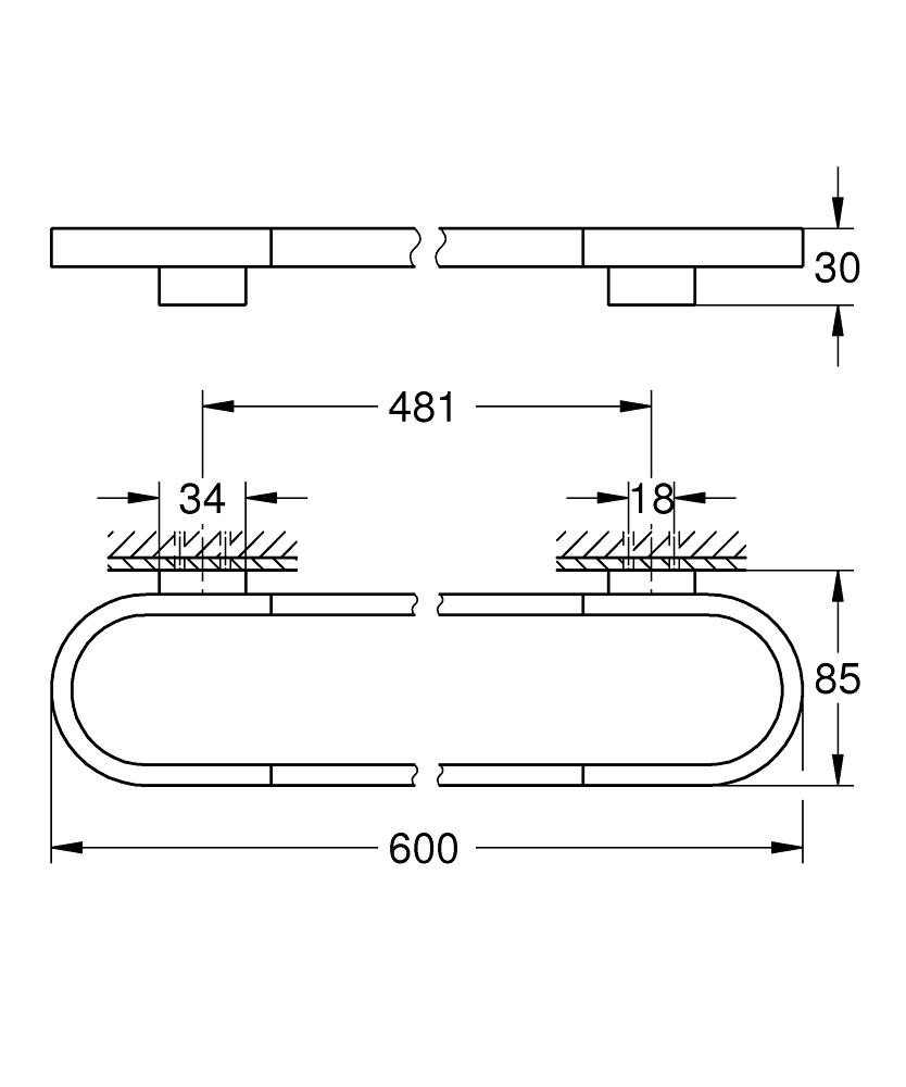 Selection Towel rail   GROHE