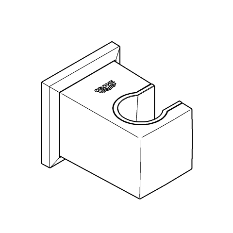 Allure Brilliant Support mural pour douchette