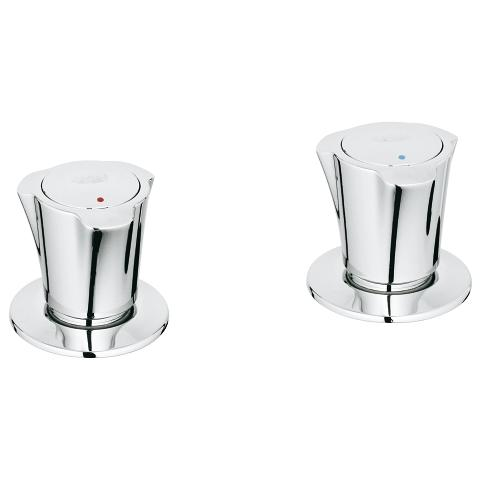 Pillar taps 1/2″ for bidet