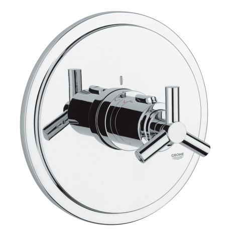 Thermostat for bath and/or shower