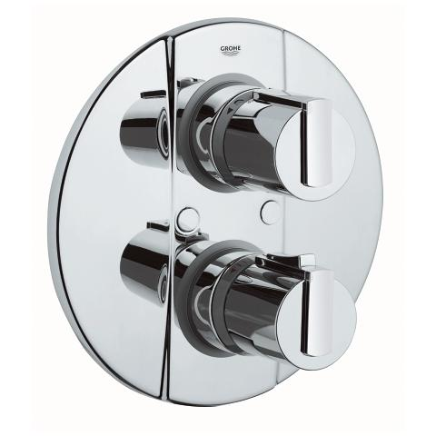 Grohtherm 2000 Thermostatic bath/shower mixer trim