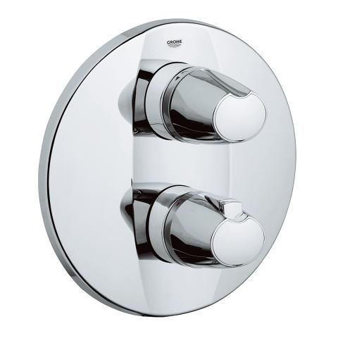 Grohtherm 3000 Thermostat with integrated 2-way diverter for bath or shower with more than one outlet