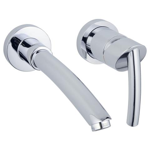 Tenso Two-hole basin mixer