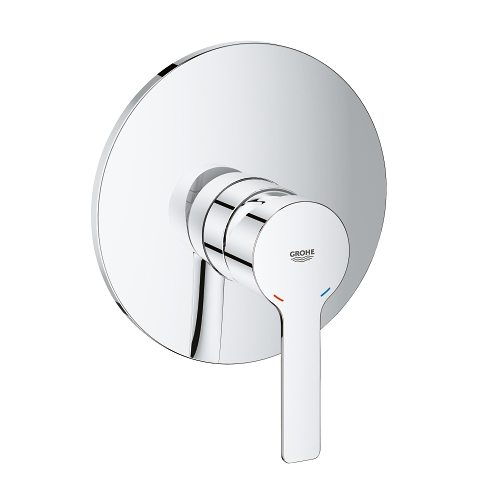 Lineare Single-lever shower mixer trim