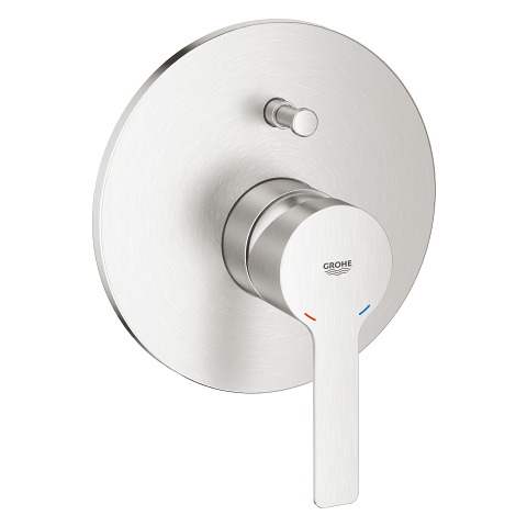Lineare Single-lever bath/shower mixer trim