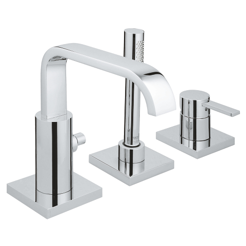 Allure Three-hole single-lever bath combination